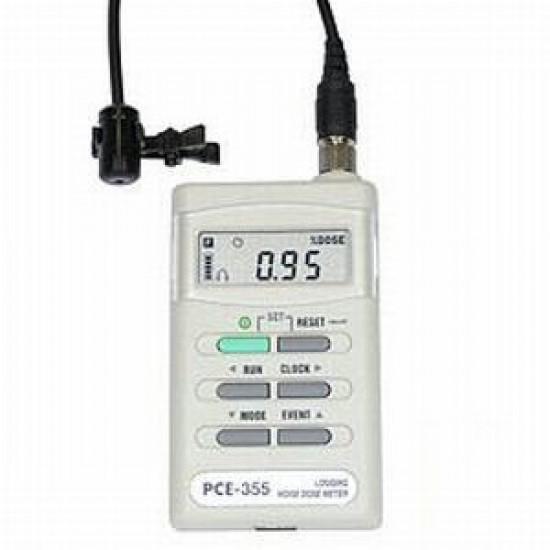 PCE-355 zajszint mérő