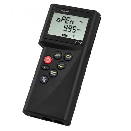 P-770-M térfogatáramlás mérő (víz, levegő)