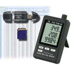 PCE-THB 40 Hőmérő, nedvességmérő adatrögzítéssel