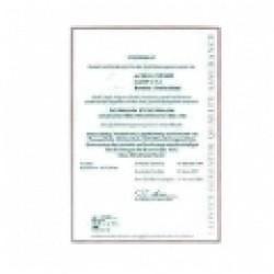 5600-0067 Kalibrálási okirat Log110