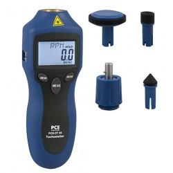 PCE-DT 65 Lézeres fordulatszámmérő műszer.