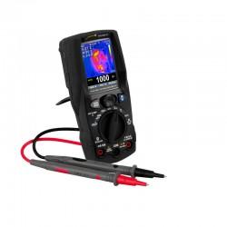 PCE-HDM 15 Multiméter Bluetooth interfésszel és termikus képalkotó funkcióval