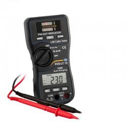 Lan tesztelő PCE-LT 15 multiméterrel