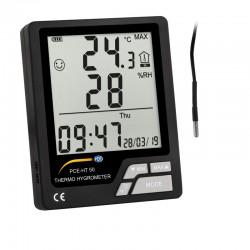 Hőmérő-higrométer PCE-HT 50