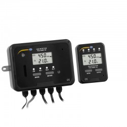 PCE-WMM 100 CO2 / O2 gáz figyelmeztető rendszer PCE-WMM 100