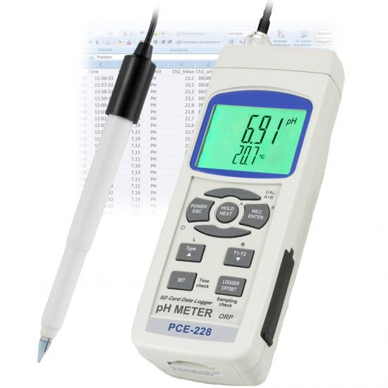 Talaj pH-mérő PCE-228S