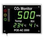 PCE-AC 2000 CO2 mérő