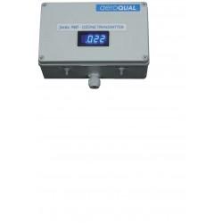 AQ-FM S940 Gas Transmitter vákuumpumpával  AQ GSS érzékelőfejhez analóg kimenet 4-20 mA, és kapcsoló kimenet