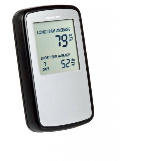 Digitális monitor Radon