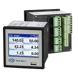 Hőmérséklet adatgyűjtő PCE-KD5