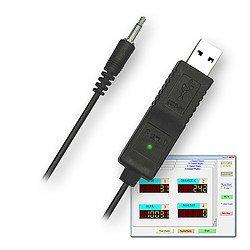 USB adatkábel SOFT-LUT-USB-hez inkl. szoftver