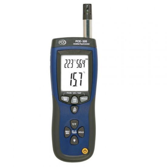 PCE-320 nedvességmérő (Psychrométer )